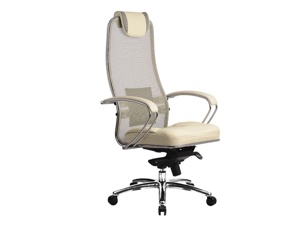 Компьютерное кресло Метта Samurai SL-1.02 / SL-1.03 Beige