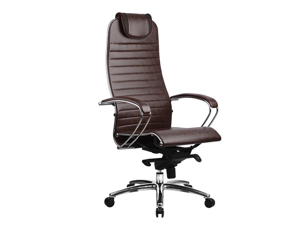 Компьютерное кресло Метта Samurai K-1.02 / K-1.03 Dark-Brown