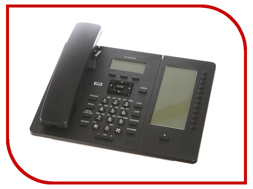 VoIP оборудование Panasonic KX-HDV230RUB Black блок расширения panasonic kx ns520ru