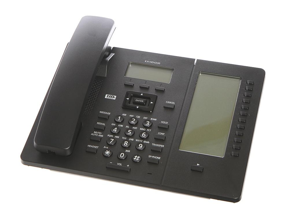 VoIP оборудование Panasonic KX-HDV230RUB Black