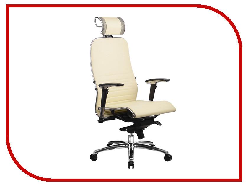 все цены на Компьютерное кресло Метта Samurai K-3.02 Beige с 3D подголовником