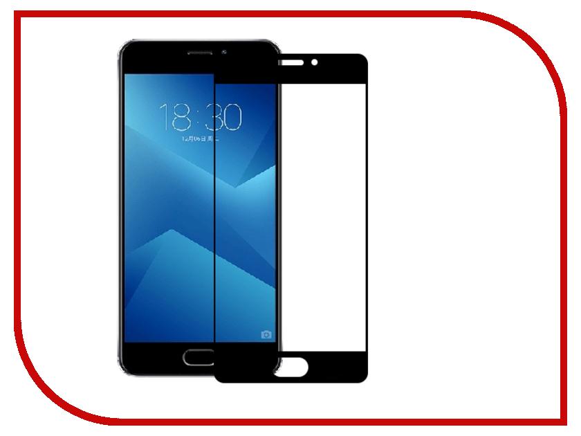 Аксессуар Защитное стекло Meizu M5 Note 5.5 Red Line Full Screen Tempered Glass Black аксессуар защитное стекло samsung galaxy j7 neo 5 5 0 33mm red line tempered glass