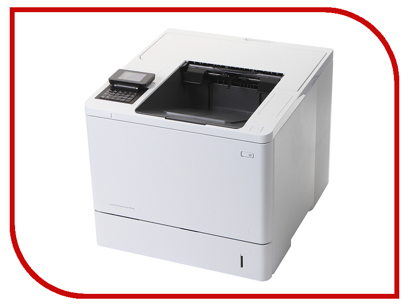 Принтер HP LaserJet Enterprise M608dn hewlett packard hp color laserjet pro mfp m277n цветной лазерный мфу