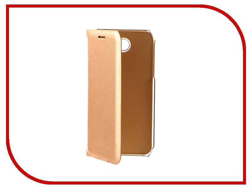 Аксессуар Чехол Samsung SM-J330 Galaxy J3 2017 Aksberry Air Case Gold soundmax sm ccr3055f