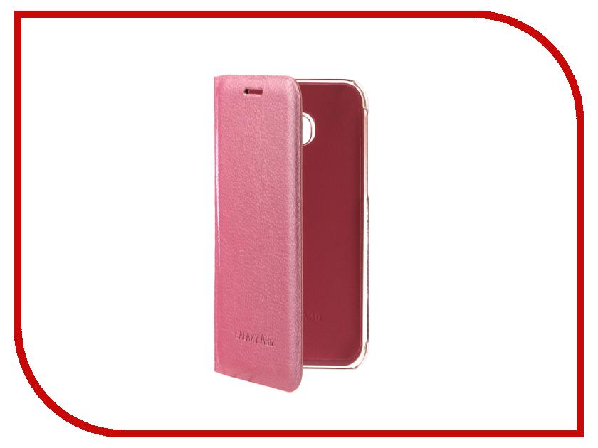 Аксессуар Чехол Samsung Galaxy A3 2017 Aksberry Air Case Pink