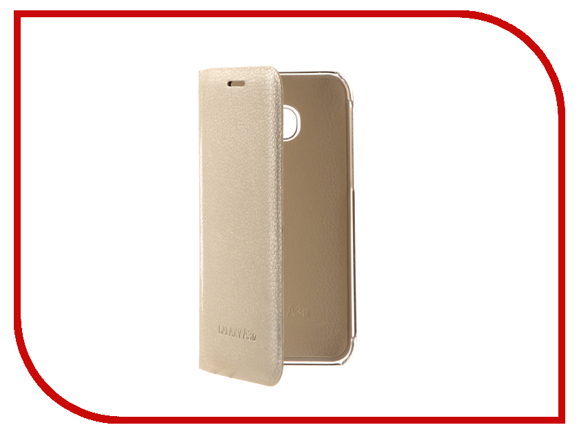 Аксессуар Чехол Samsung Galaxy A3 2017 Aksberry Air Case White
