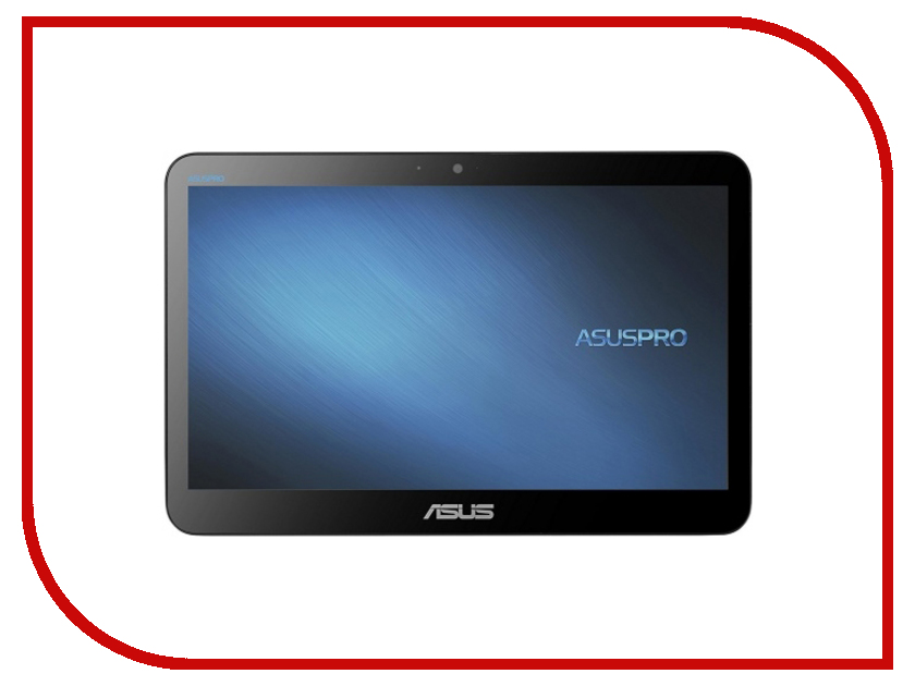 Моноблок ASUS Asuspro A4110-BD245X 90PT01H1-M05400 (Intel Celeron J3160 1.60 Ghz/4096Mb/500Gb/Intel HD Graphics/Wi-Fi/Cam/15.6/1366x768/Touchscreen/Windows 10) моноблок asus pro a4110 90pt01h2 m06400 90pt01h2 m06400