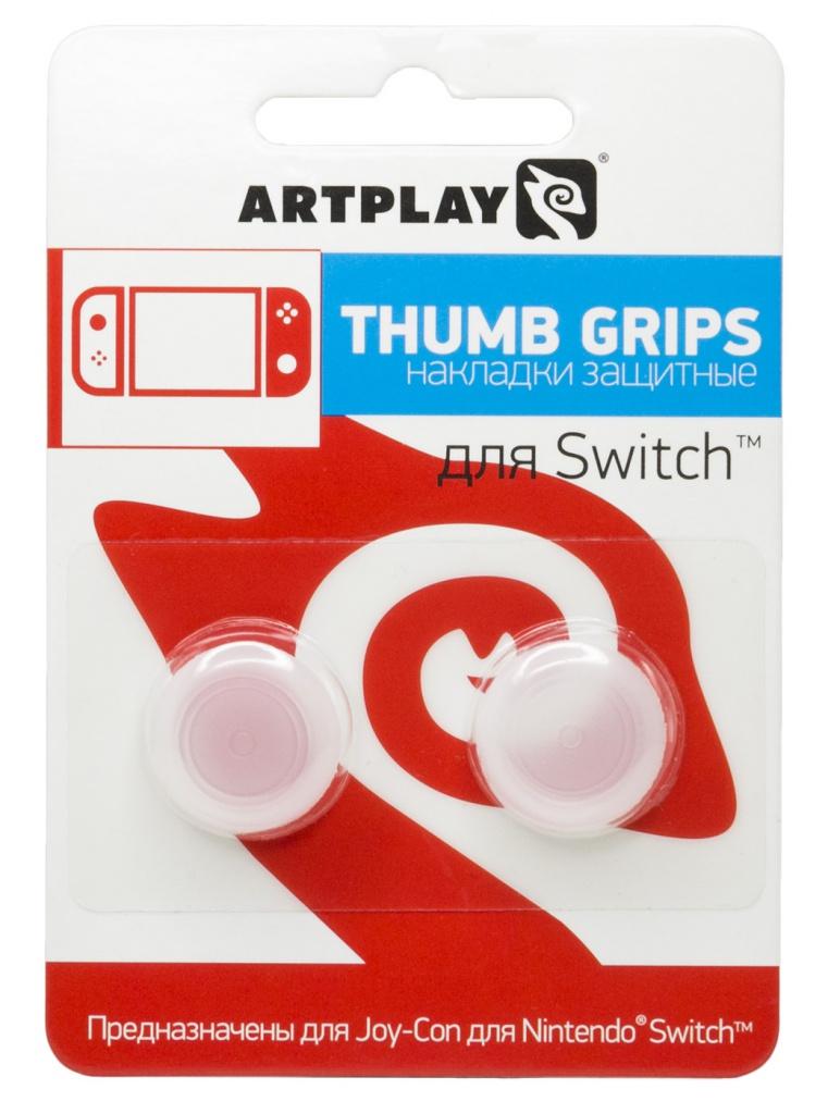 Накладка Artplays Thumb Grips Gray для Nintendo Switch ACSWT17