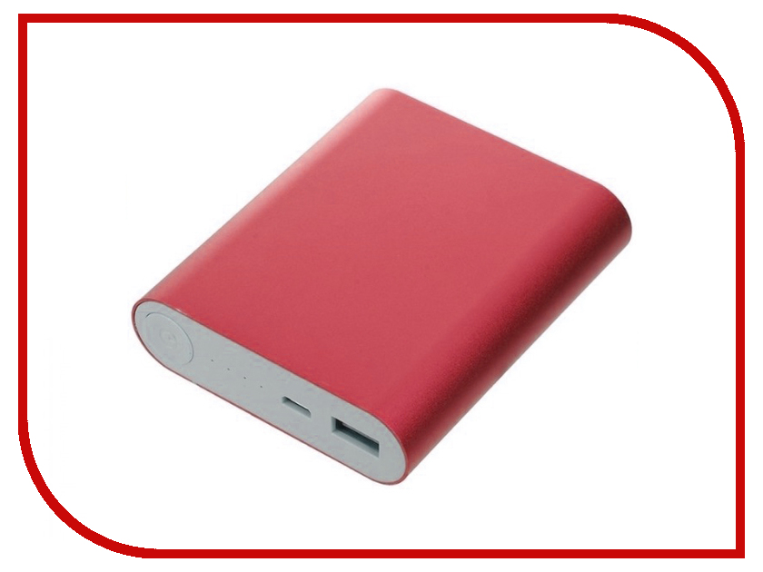 Аккумулятор Aksberry S-10400M 10400mAh Red
