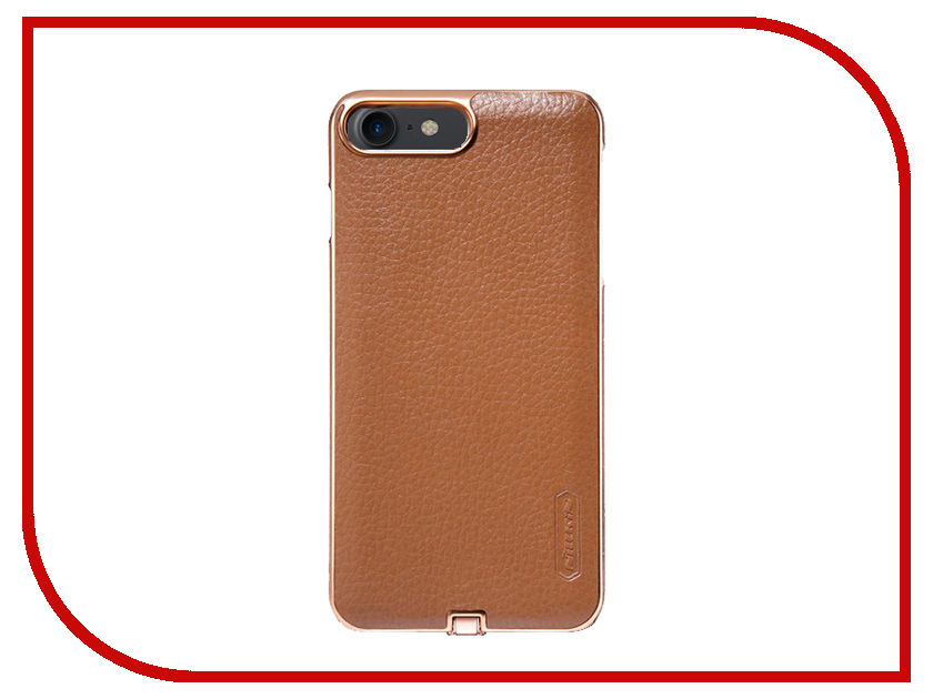 Аксессуар Чехол Nillkin N-Jarl для iPhone 7 Brown NJ-WR AP-Iphone7 аксессуар fototo браслет макрообъективдля iphone