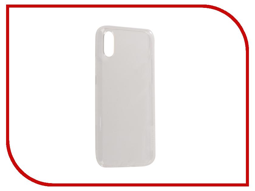 Аксессуар Чехол Nillkin Nature для iPhone X White IPhX TPU аксессуар fototo браслет макрообъективдля iphone