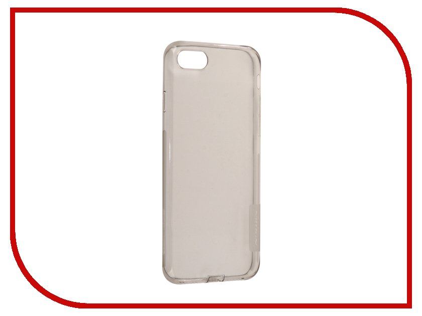 Аксессуар Чехол Nillkin Nature TPU для iPhone 7 / 8 Grey N-TPU AP-Iphone7 uag iphone7 4 7 дюйма падение сопротивления mobile shell чехол для apple iphone7 iphone6s iphone6 отличает серию благородный красный
