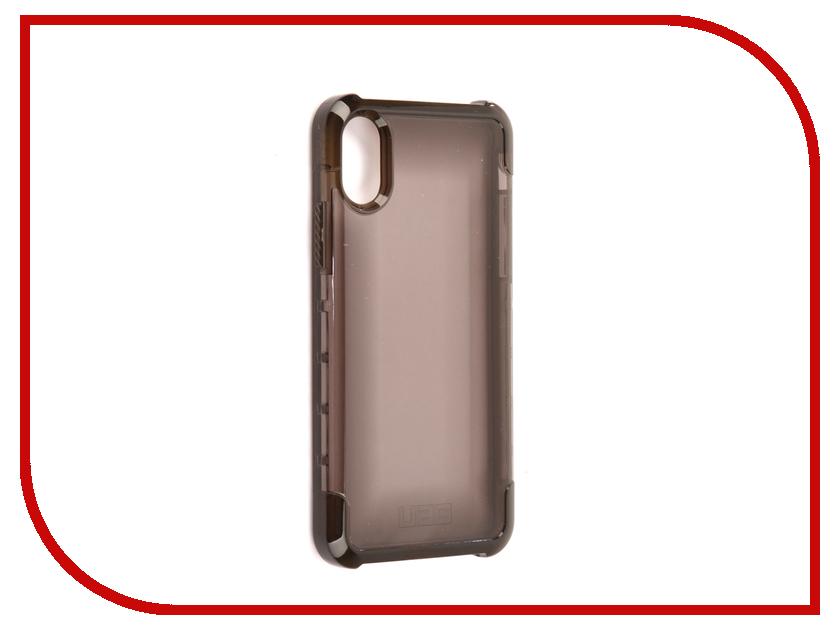 Аксессуар Чехол UAG Plyo Case для APPLE iPhone X Ash аксессуар чехол uag plasma cobalt для apple iphone 7 blue iph7 6s l cb