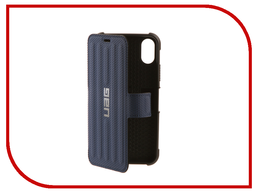 все цены на Аксессуар Чехол UAG Metropolis Case для APPLE iPhone X Blue онлайн