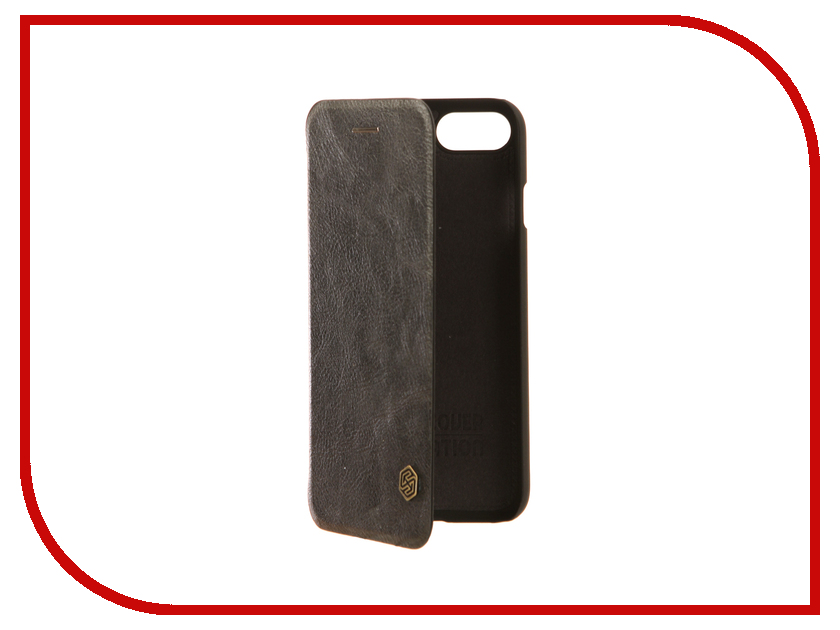 Аксессуар Чехол Nillkin Qin Leather для iPhone 7 / 8 Black Q-LC AP-Iphone7 чехол книжка nillkin qin leather для apple iphone 7 plus
