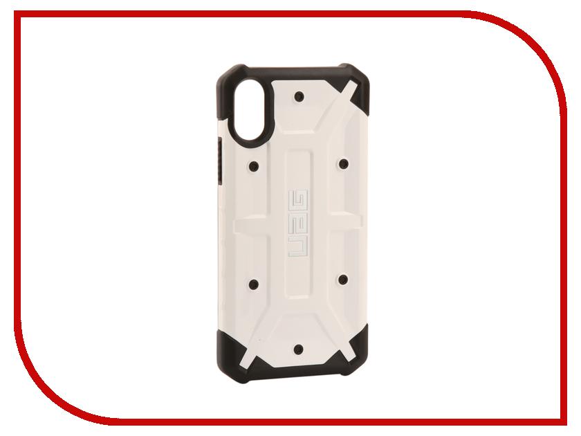 Аксессуар Чехол UAG Pathfinder Case для APPLE iPhone X White аксессуар чехол apple iphone se leather case red mr622zm a