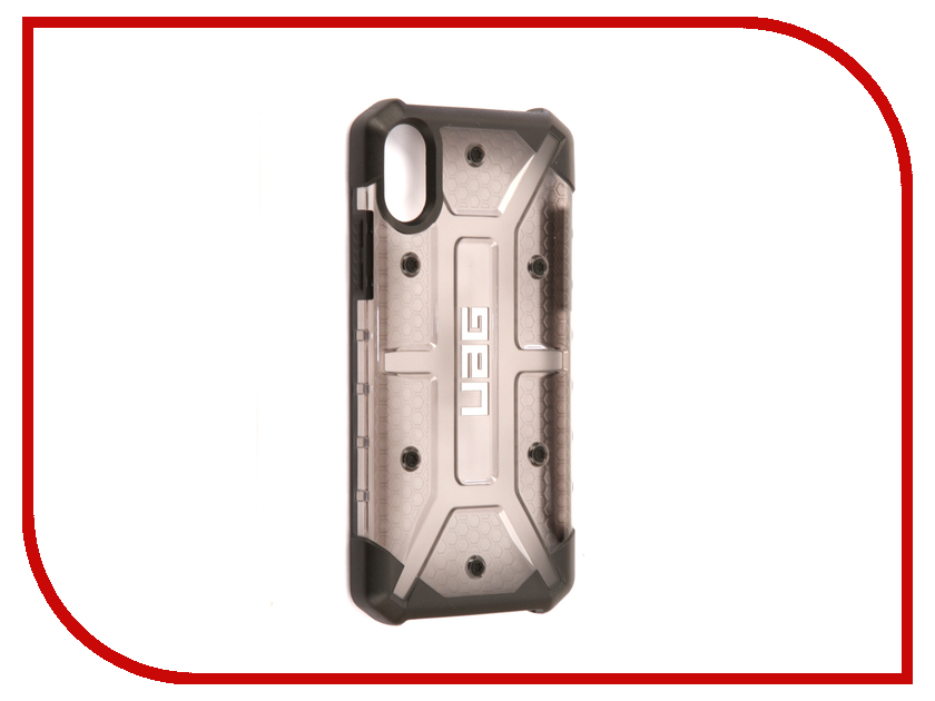 Аксессуар Чехол UAG Plasma Case для APPLE iPhone X Ash IPHX-L-AS urban armor gear trooper series case чехол для iphone 7 6s 6 plus black