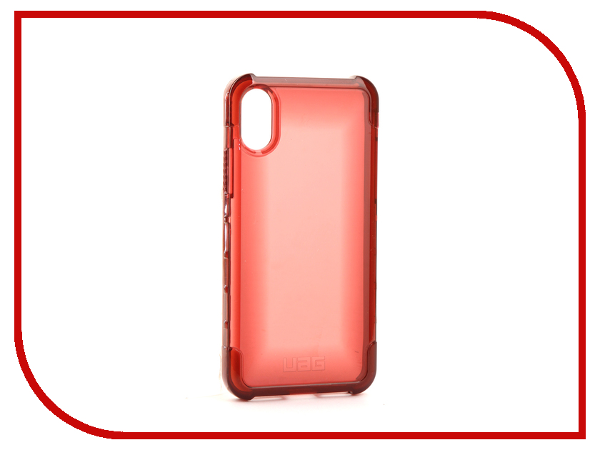 Аксессуар Чехол UAG Plyo Case для APPLE iPhone X Crimson IPHX-Y-CR urban armor gear trooper series case чехол для iphone 7 6s 6 plus black