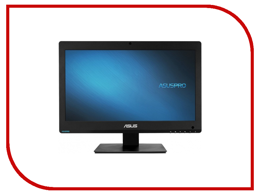 Моноблок ASUS Asuspro A4321UTH-BE014D 90PT01L1-M12290 (Intel Celeron G3900 2.8 GHz/4096Mb/1000Gb/DVD-RW/Intel HD Graphics/Wi-Fi/Cam/19.5/1600x900/Touchscreen/DOS) моноблок asus v220ibgk bc021x