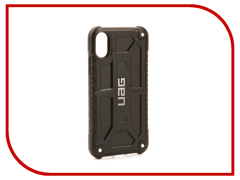 Аксессуар Чехол UAG Monarch Case для APPLE iPhone X Black IPHX-M-BLK urban armor gear trooper series case чехол для iphone 7 6s 6 plus black