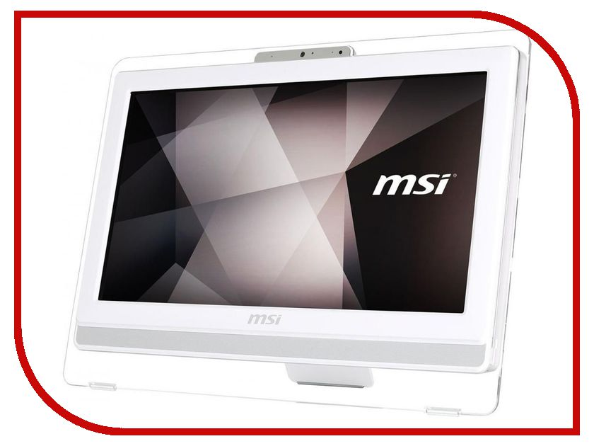 Моноблок MSI Pro 20ET 7M-021RU 9S6-AA8C12-021 (Intel Core i3-7100 3.9 GHz/4096Mb/1000Gb/DVD-RW/Intel HD Graphics/Wi-Fi/Cam/19.5/1600x900/Touchscreen/DOS) моноблок msi pro 24 7m 055ru 23 6 full hd i3 7100 8gb 1tb hdg dvdrw dos kb m черный 1920x1080 [9s6 ae9311 055]