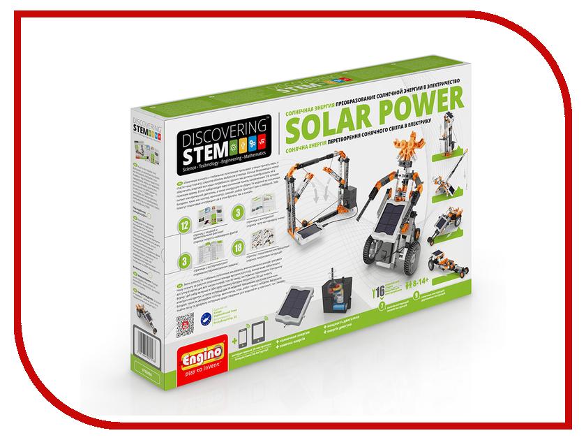 Конструктор Engino Discovering Stem STEM30 Солнечная энергия конструктор механический engino discovering stem колеса оси и наклонные плоскости