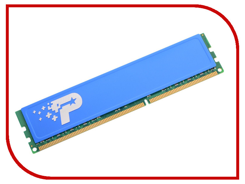 Модуль памяти Patriot Memory DDR3 DIMM 1600Mhz PC3-12800 CL11 - 8Gb PSD38G16002H модуль памяти patriot memory ddr3 dimm 1600mhz pc3 12800 2gb psd32g16002 81