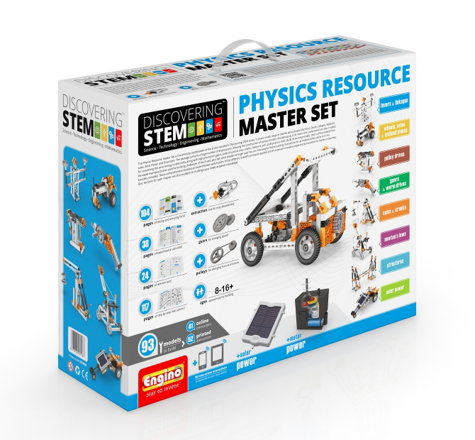Конструктор Engino Discovering Stem STEM50 Physics Resource Master Set
