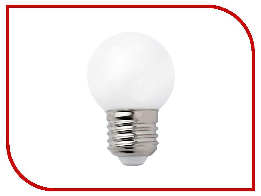 Лампочка Perfeo Шар PF-G45 LED E27 7W 3000K