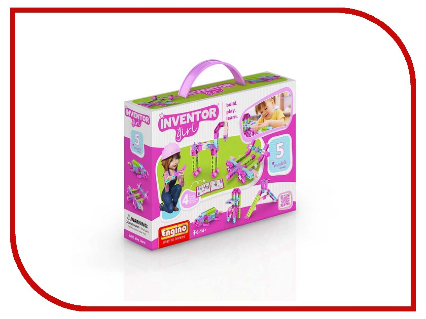 Конструктор Engino Inventor Girls IG05 engino конструктор inventor приключения 170 элементов