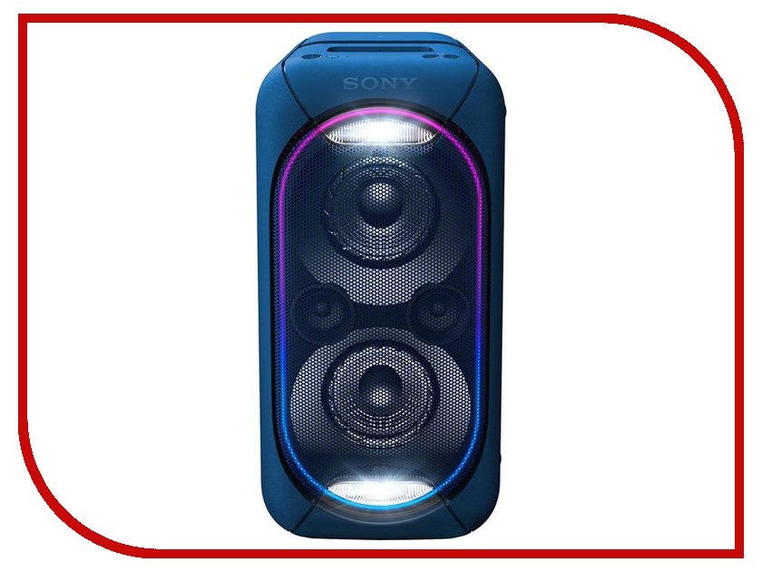 Колонка Sony GTK-XB60 Blue музыкальный центр sony gtk xb60 красный [gtkxb60r ru1]