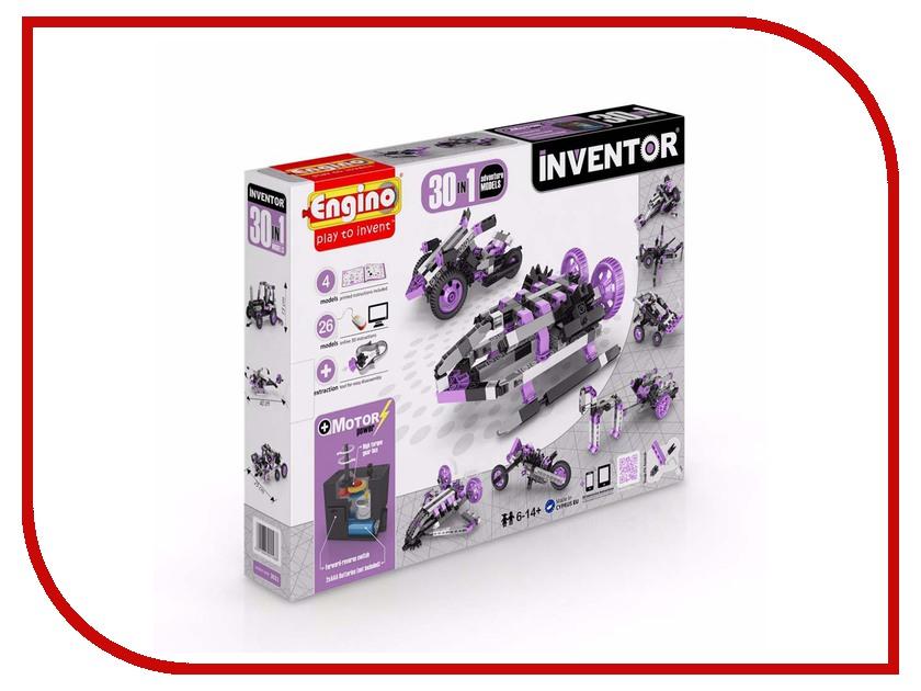 Конструктор Engino Inventor 30 моделей из одного engino конструктор inventor приключения 170 элементов