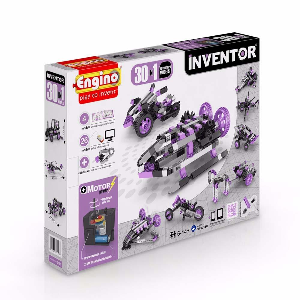 Конструктор Engino Inventor 30 моделей из одного комплекта 3031