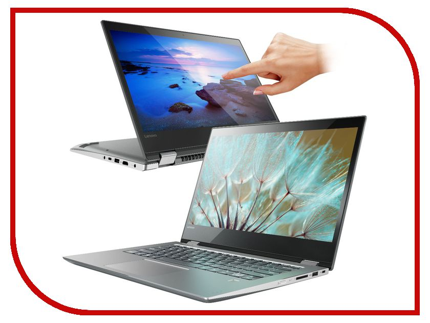 Ноутбук Lenovo Yoga 520-14IKB 80X8008VRK (Intel Core i5-7200U 2.5 GHz/8192Mb/128Gb/Intel HD Graphics/Wi-Fi/Cam/14/1920x1080/Windows 10) моноблок lenovo ideacentre aio 520 22iku ms silver f0d5000srk intel core i5 7200u 2 5 ghz 4096mb 1000gb dvd rw intel hd graphics wi fi bluetooth cam 21 5 1920x1080 dos