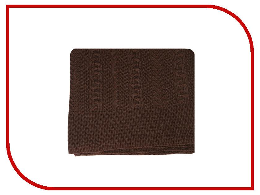 Здесь можно купить Коса  Плед Valtery Коса 150x200cm Chocolate