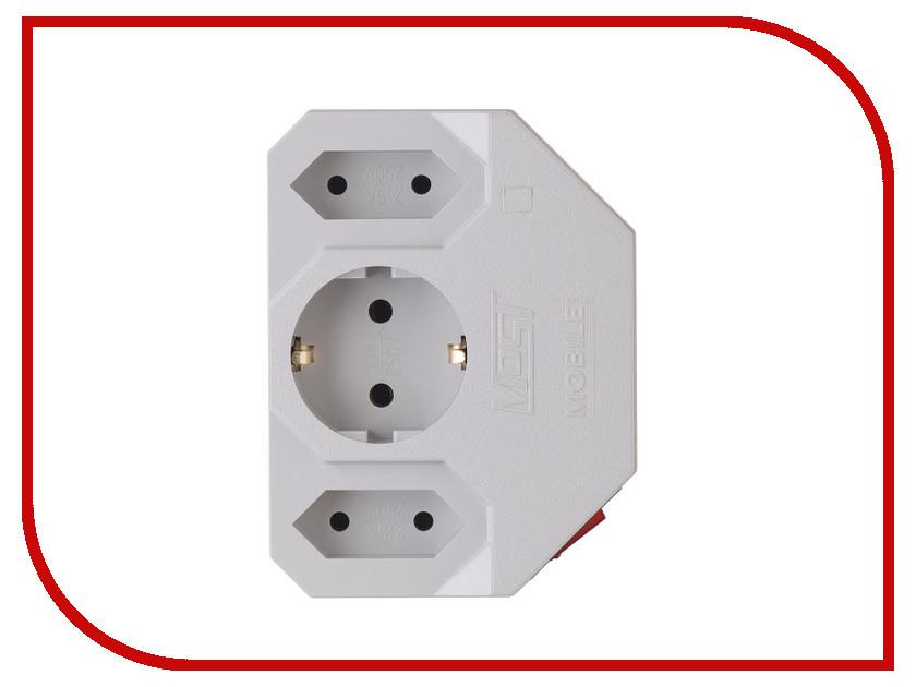 Сетевой фильтр Most MRG 3 Sockets White сетевой фильтр most rg 6 sockets 5m white 587278