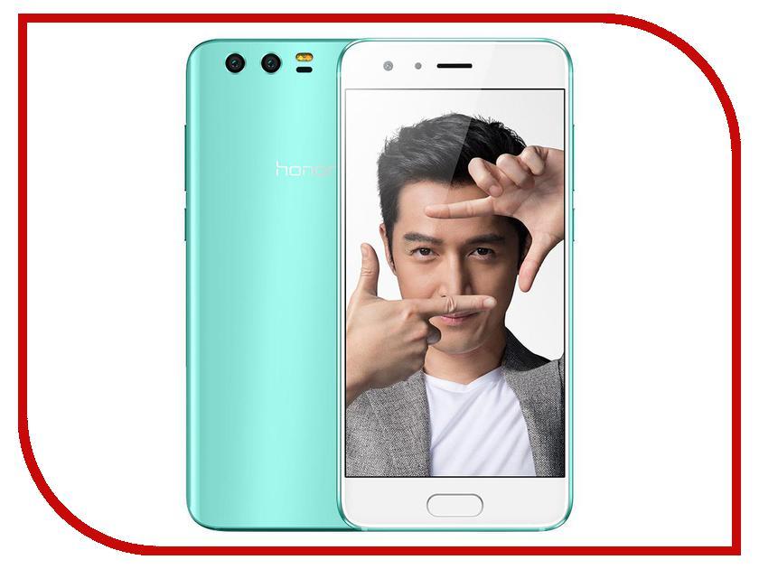 Сотовый телефон Huawei Honor 9 6Gb RAM 128Gb Tiffani Blue Выгодный набор + серт. 200Р!!! сотовый телефон huawei honor 8 4gb ram 32gb frd l09 blue