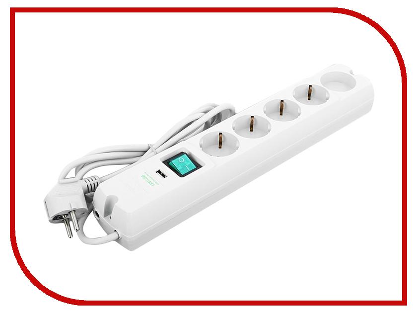 Сетевой фильтр Most LRG-USB 5 Sockets 1.7m White lrg 2017