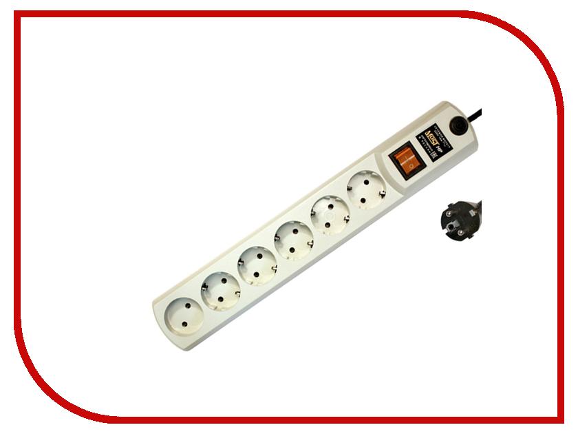 купить Сетевой фильтр Most HP 6 Sockets 2m White недорого