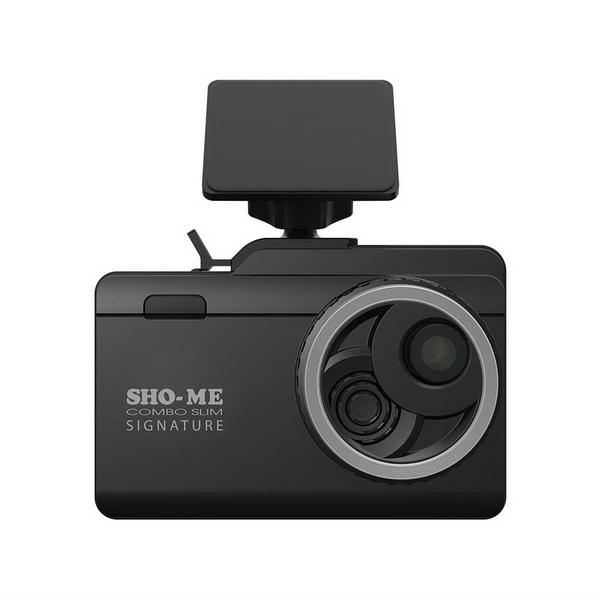 Видеорегистратор Sho-Me Combo Slim Signature Выгодный набор + серт. 200Р!!!