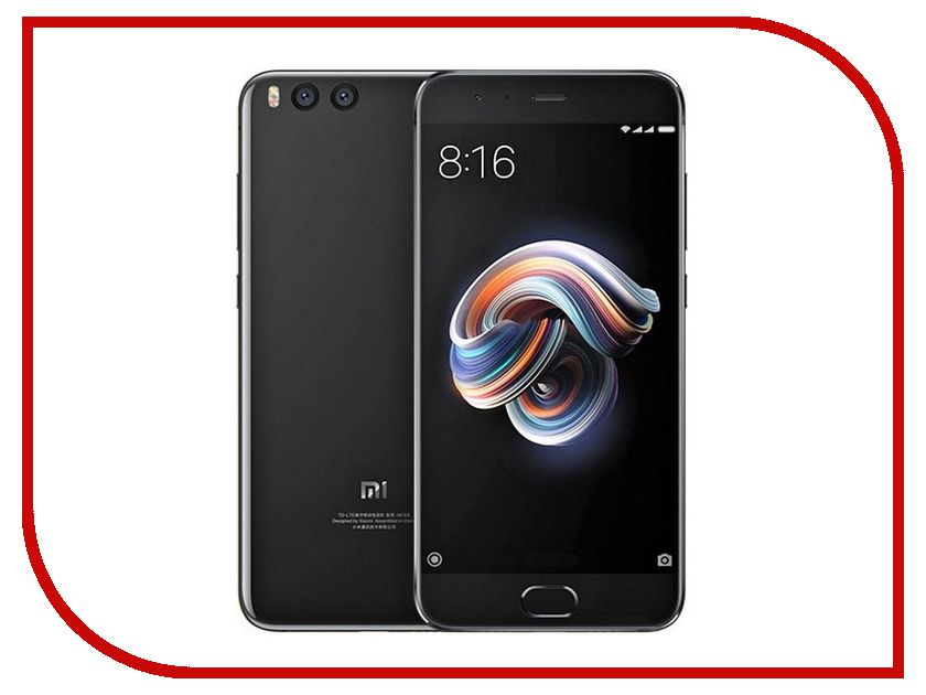 Сотовый телефон Xiaomi Mi Note 3 64Gb Black mi note 2 black