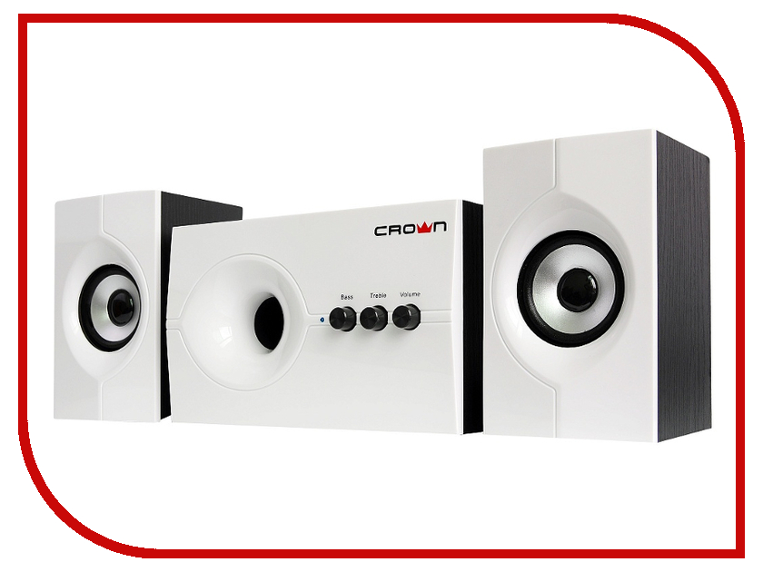 Колонка Crown CMS-350 White колонки crown cms 3800