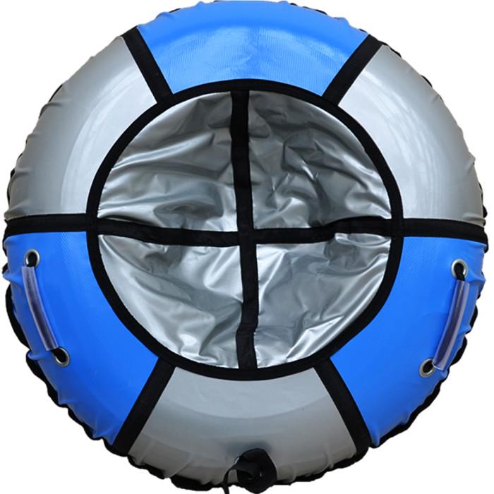 Тюбинг SnowShow Практик 120cm Light Blue-Silver