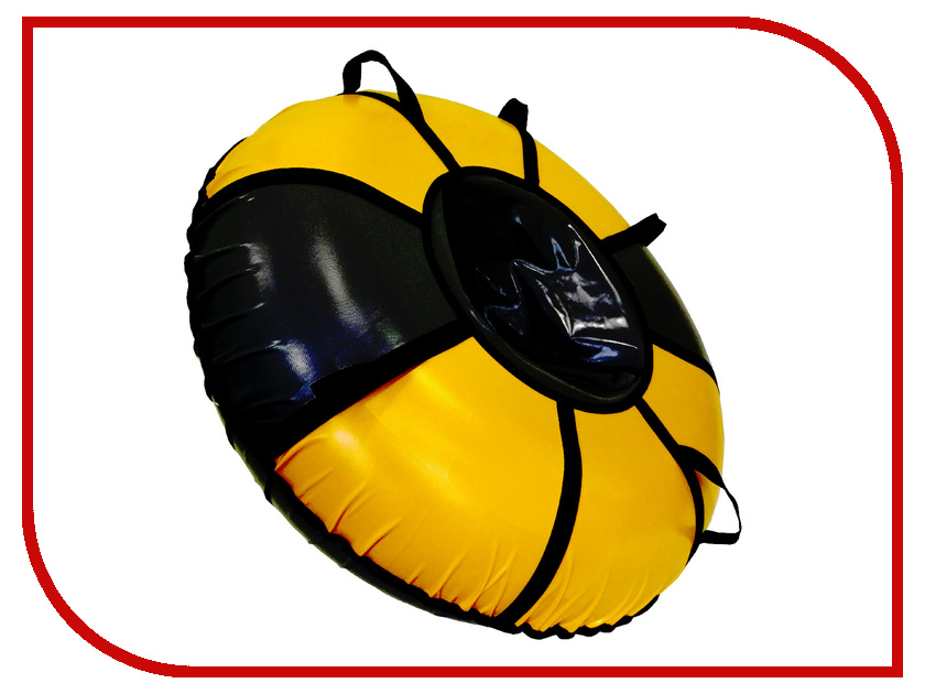 Тюбинг SnowShow Практик 105cm Black-Yellow все цены