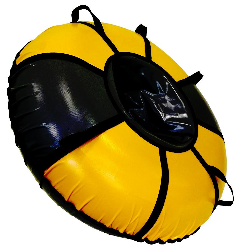 Тюбинг SnowShow Практик 105cm Black-Yellow