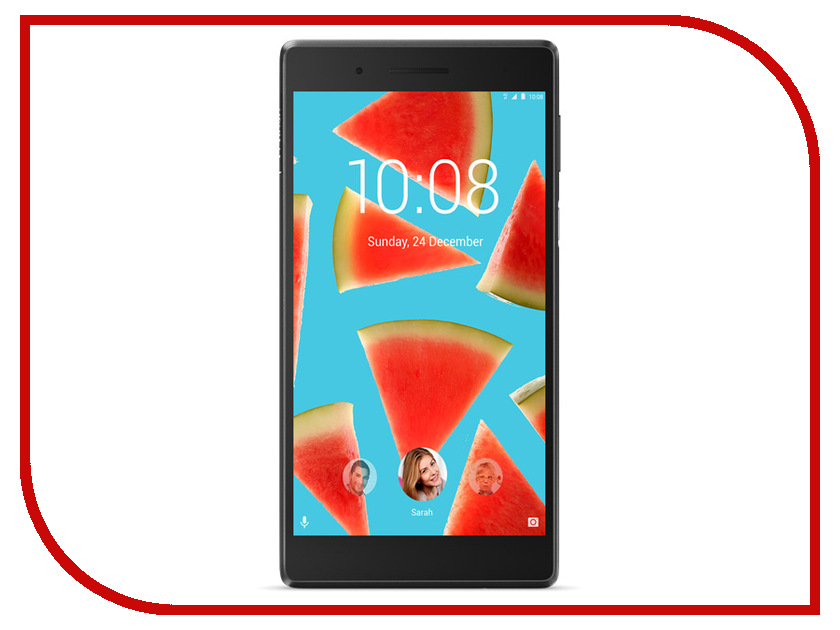 Планшет Lenovo Tab 7 TB-7504X ZA380077RU (MediaTek MT8735B 1.3 GHz/1024Mb/16Gb/Wi-Fi/LTE/Bluetooth/GPS/Cam/7.0/1280x720/Android) junsun 7 inch hd car gps navigation with fm bluetooth avin multi languages europe sat nav truck car gps navigator with free maps