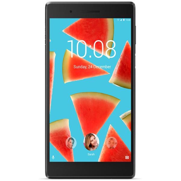 Планшет Lenovo Tab 7 TB-7504X ZA380077RU (MediaTek MT8735B 1.3 GHz/1024Mb/16Gb/Wi-Fi/LTE/Bluetooth/GPS/Cam/7.0/1280x720/Android)