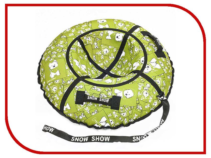 Тюбинг SnowShow Стандарт 105cm Lars Green вкладыши 53 шат стандарт