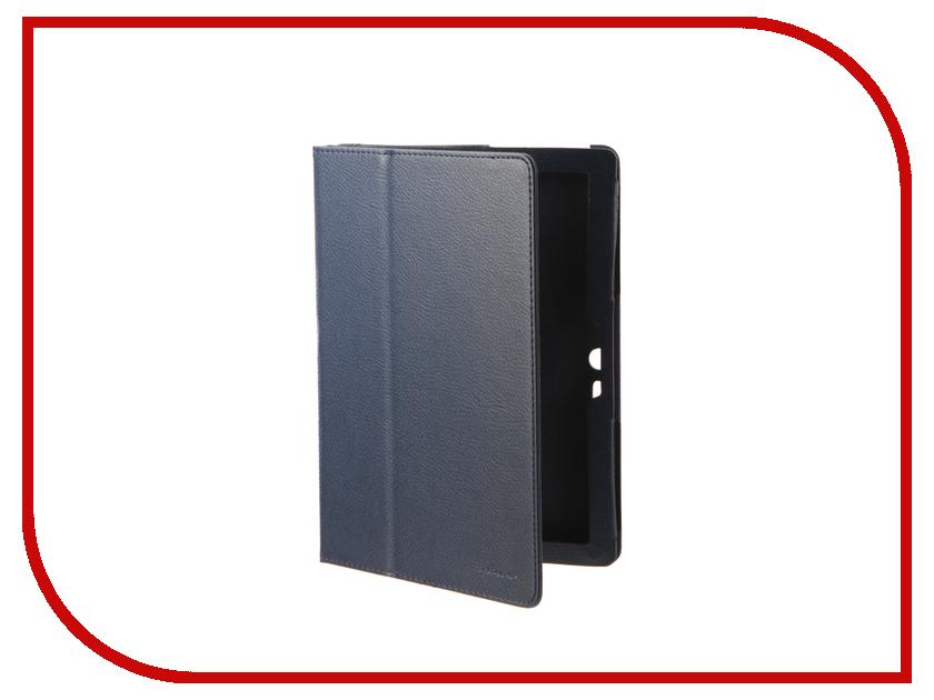 Аксессуар Чехол Lenovo Tab 4 10.0 TB-X103F IT Baggage Blue ITLNT4130-4 чехол для asus zenpad z580c z580ca it baggage эко кожа черный
