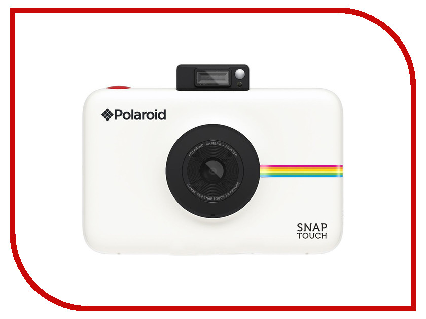 Zakazat.ru: Фотоаппарат Polaroid Snap Touch White POLSTW